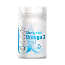 Chewable Omega 3 Lemon Flavour (100 capsule gelatinoase masticabile)
